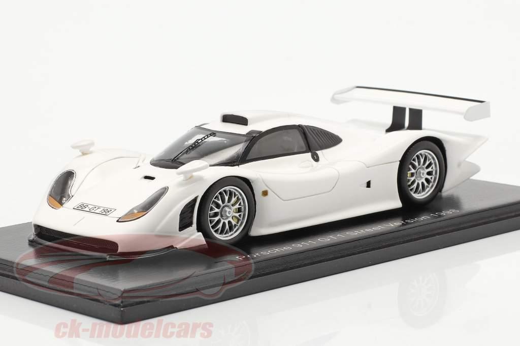 Porsche 911 GT1 Street Version 1998 bianca 1:43 Spark
