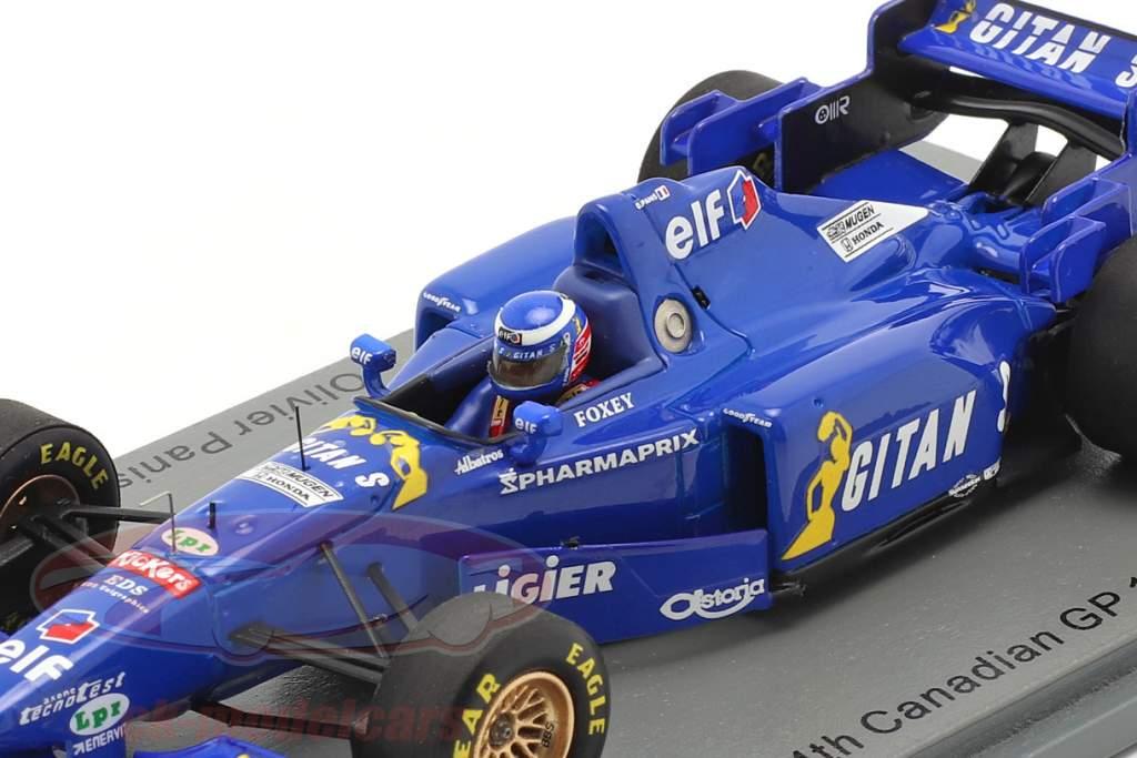 Olivier Panis Ligier JS41 #26 4º canadense GP Fórmula 1 1995 1:43 Spark