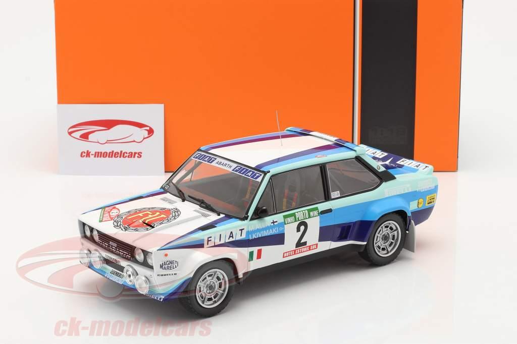 Fiat 131 Abarth #2 2nd Rally Portugal 1980 Alen, Kivimaki 1:18 Ixo