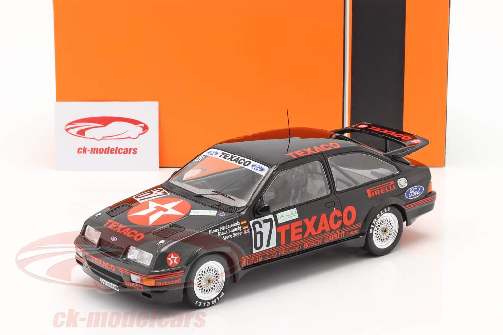 Ford Sierra RS Cosworth #67 Vinder 24h Nürburgring 1987 Texaco Racing 1:18 Ixo