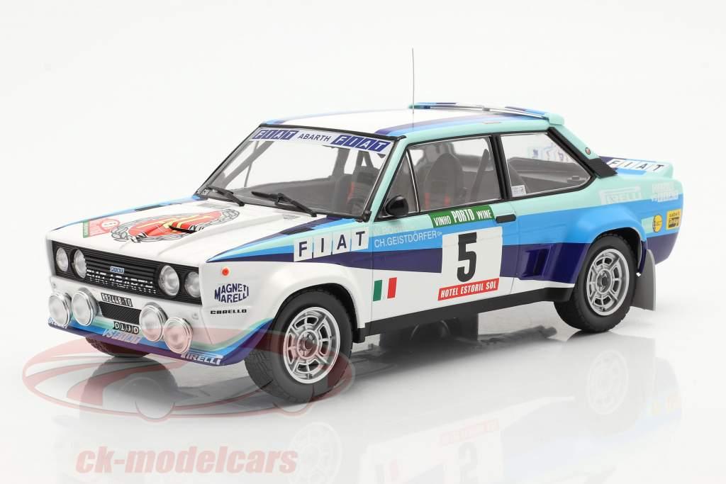 Fiat 131 Abarth #5 Campeón mundial Rallye Portugal 1980 Röhrl, Geistdörfer 1:18 Ixo