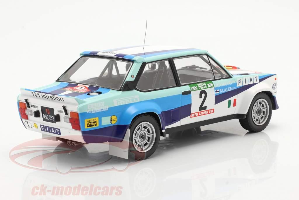 Fiat 131 Abarth #2 2nd Rallye Portugal 1980 Alen, Kivimaki 1:18 Ixo