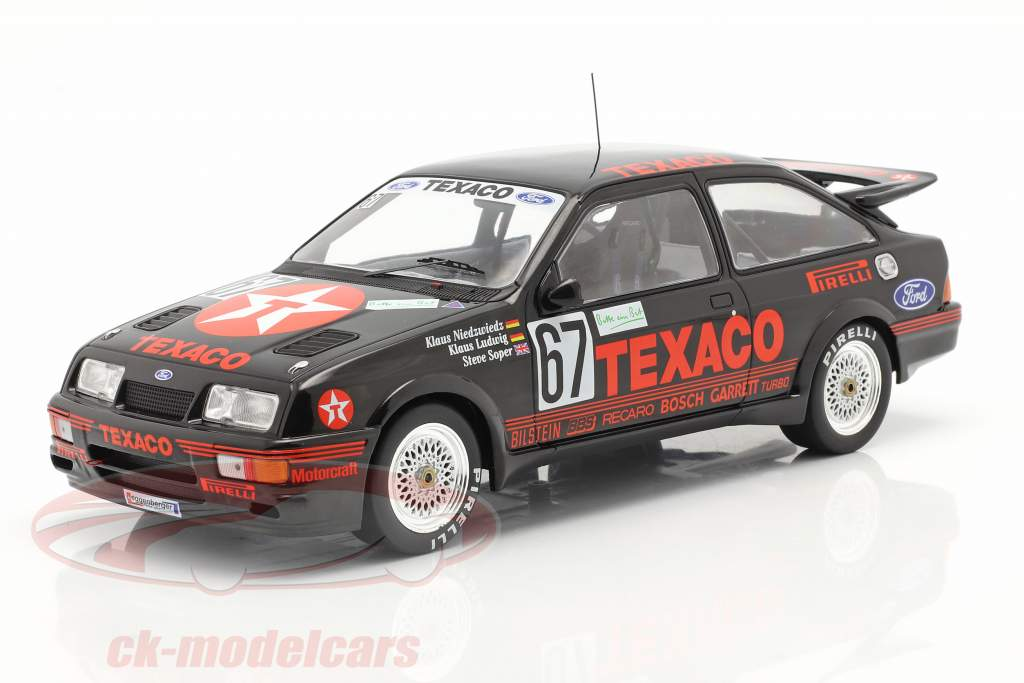 Ford Sierra RS Cosworth #67 Gagnant 24h Nürburgring 1987 Texaco Racing 1:18 Ixo