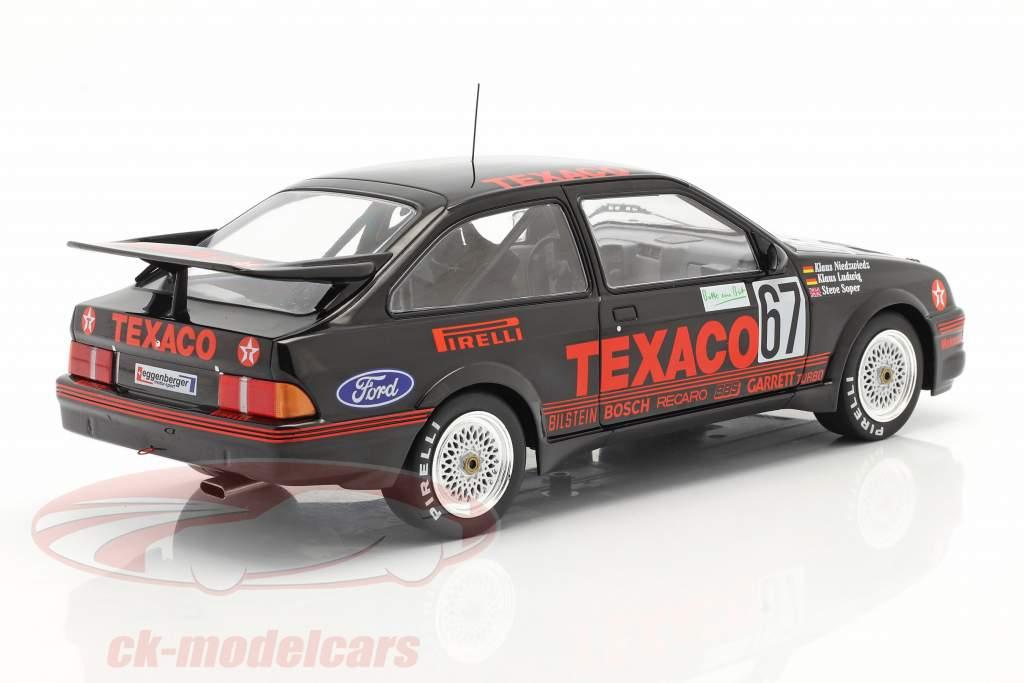 Ford Sierra RS Cosworth #67 Vencedora 24h Nürburgring 1987 Texaco Racing 1:18 Ixo