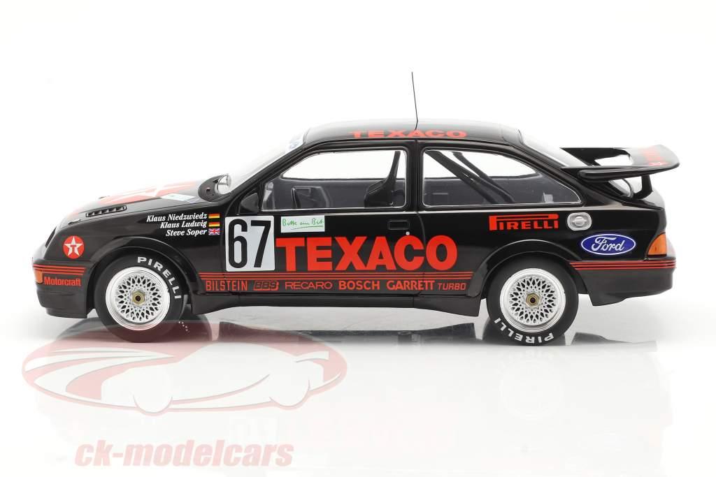 Ford Sierra RS Cosworth #67 Winnaar 24h Nürburgring 1987 Texaco Racing 1:18 Ixo