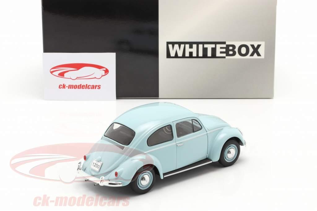 Volkswagen VW Besouro Ano de construção 1960 Azul claro 1:24 WhiteBox
