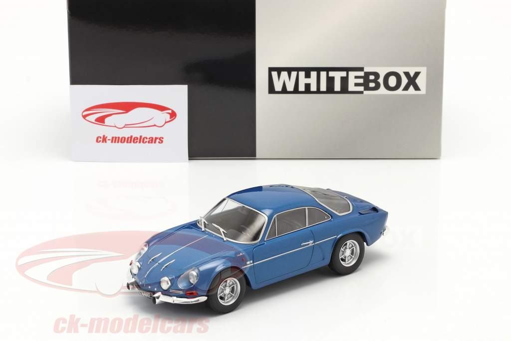 Renault Alpine A110 1300 azul metálico 1:24 WhiteBox