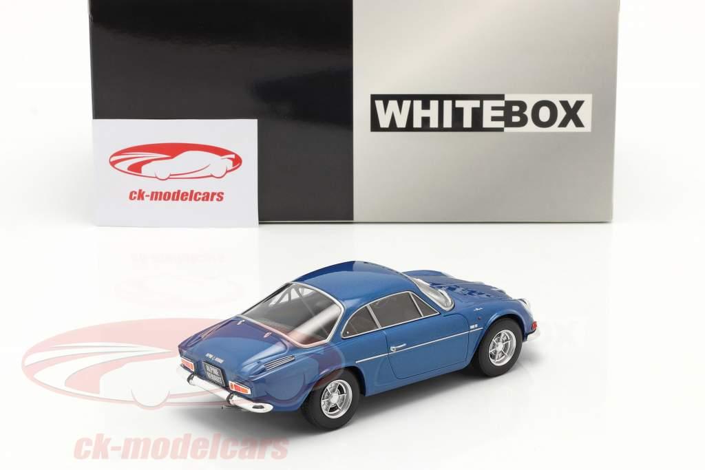 Renault Alpine A110 1300 blauw metalen 1:24 WhiteBox