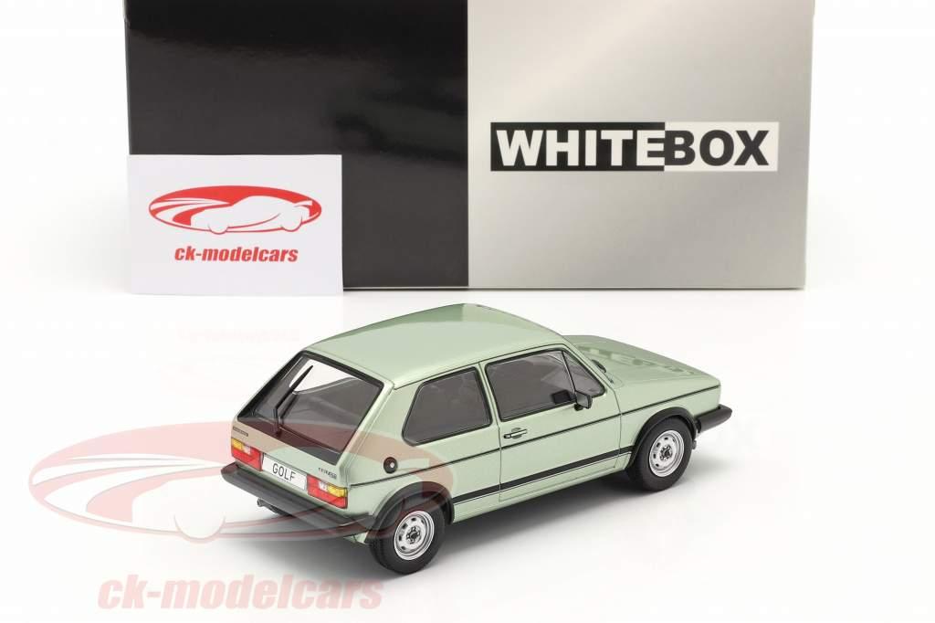 Volkswagen VW Golf I GTI Año de construcción 1983 verde claro metálico 1:24 WhiteBox