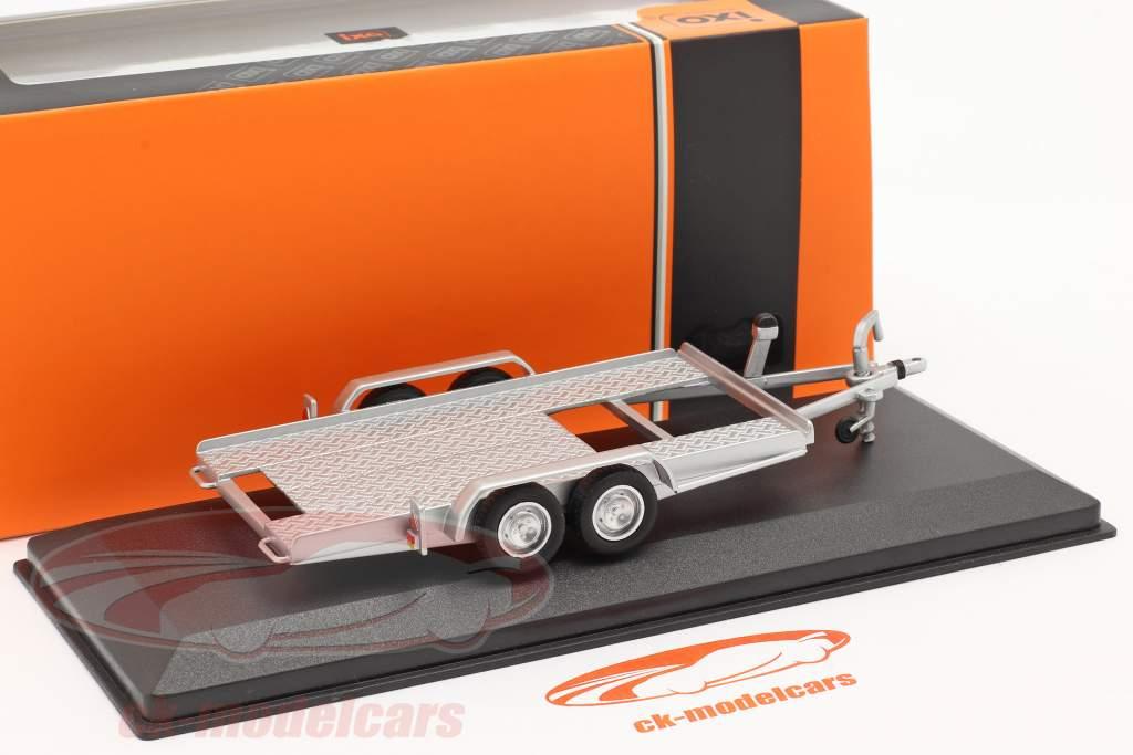 hanger Aanhangwagen voor auto's zilver 1:43 Ixo