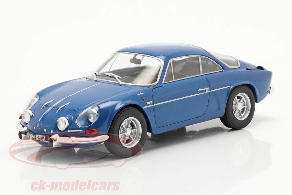 Renault Alpine A110 1300 blå metallisk 1:24 WhiteBox