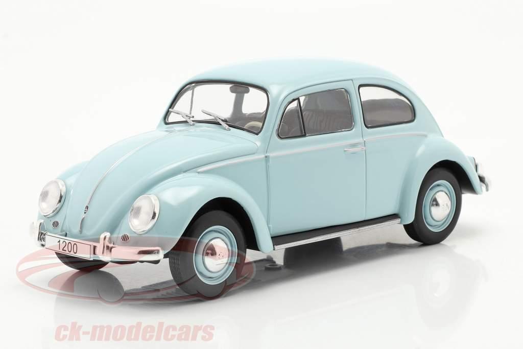 Volkswagen VW Bille Byggeår 1960 Lyseblå 1:24 WhiteBox