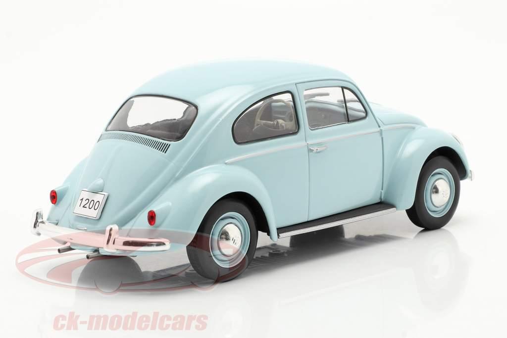 Volkswagen VW Kever Bouwjaar 1960 Lichtblauw 1:24 WhiteBox