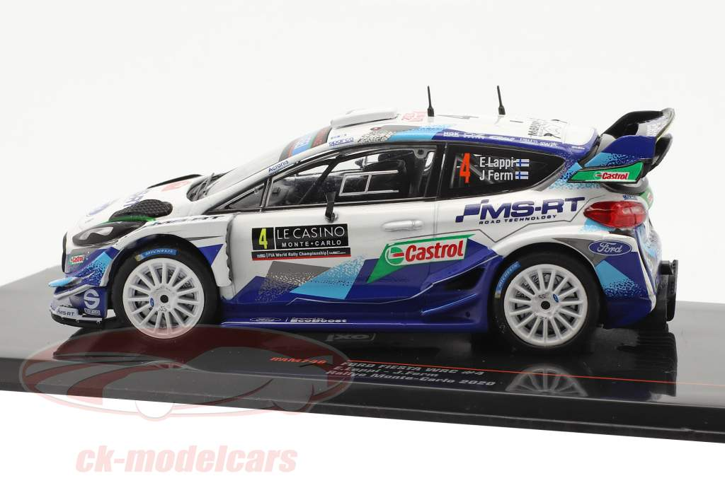 Ford Fiesta WRC #4 Rallye Monte Carlo 2020 Lappi, Ferm 1:43 Ixo