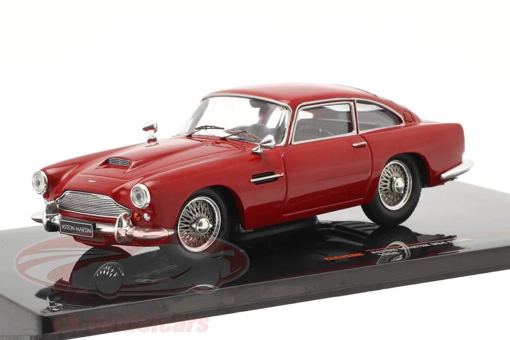 Aston Martin DB4 Coupe RHD Année de construction 1958 foncé rouge 1:43 Ixo
