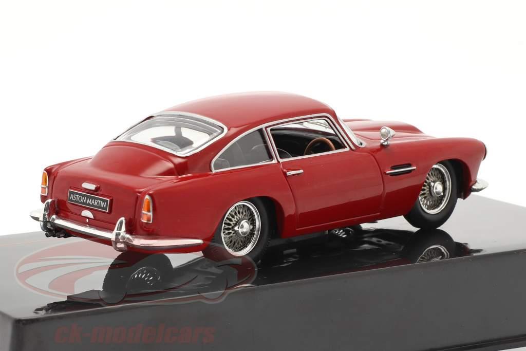 Aston Martin DB4 Coupe RHD Byggeår 1958 mørk rød 1:43 Ixo