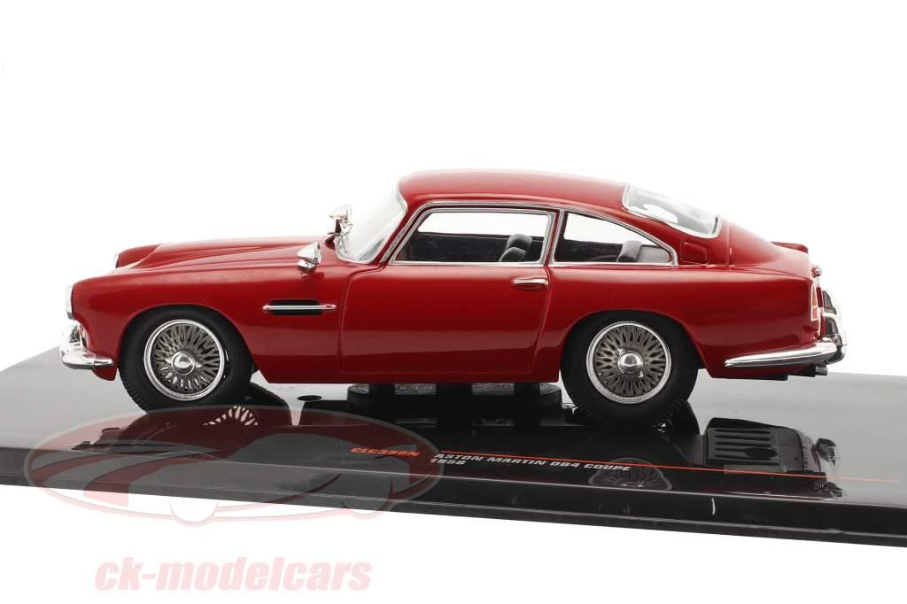 Aston Martin DB4 Coupe RHD Anno di costruzione 1958 buio rosso 1:43 Ixo