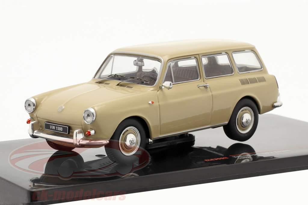 Volkswagen VW 1500 Variant Type 3 Byggeår 1962 beige 1:43 Ixo