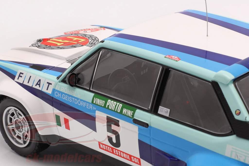 Fiat 131 Abarth #5 World Champion Rally Portugal 1980 Röhrl, Geistdörfer 1:18 Ixo