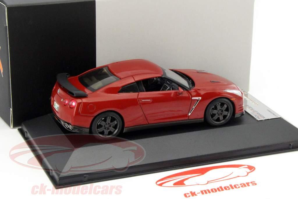 Nissan GT-R Nero Edizione anno 2014 rosso 1:43 Premium X / 2 ° scelta