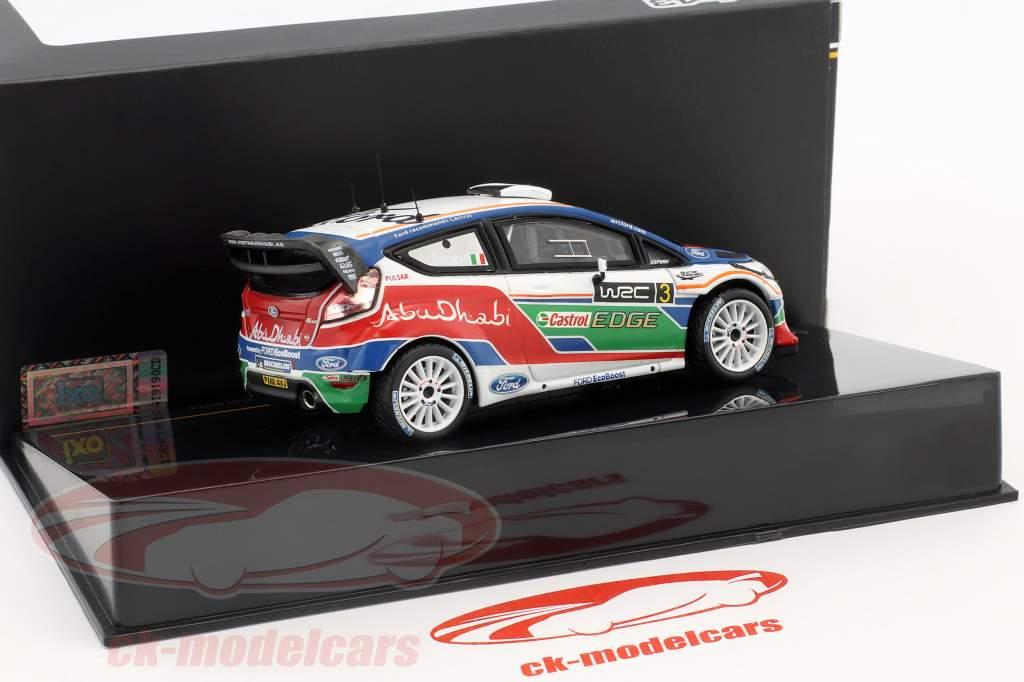 Ford Fiesta WRC #3 UK test Kirkbride Airfield 2011 Simoncelli 1:43 Ixo / 2. keuze