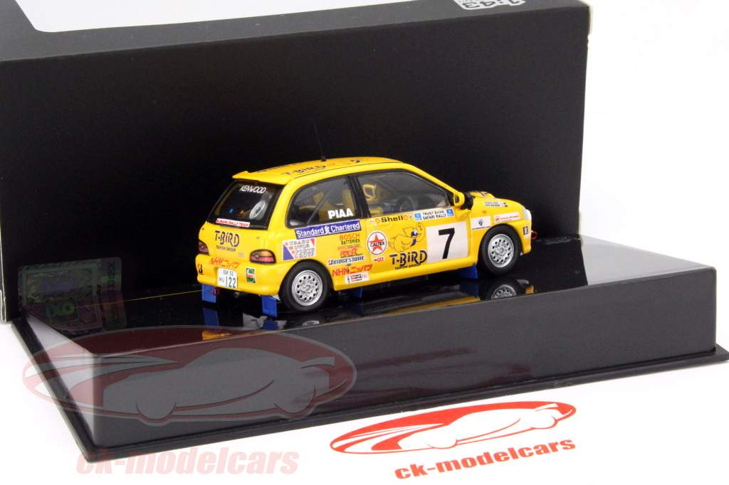 Subaru Vivio RX-R #7 vinder samle Safari 1993 Njiru 1:43 Ixo / 2. valg