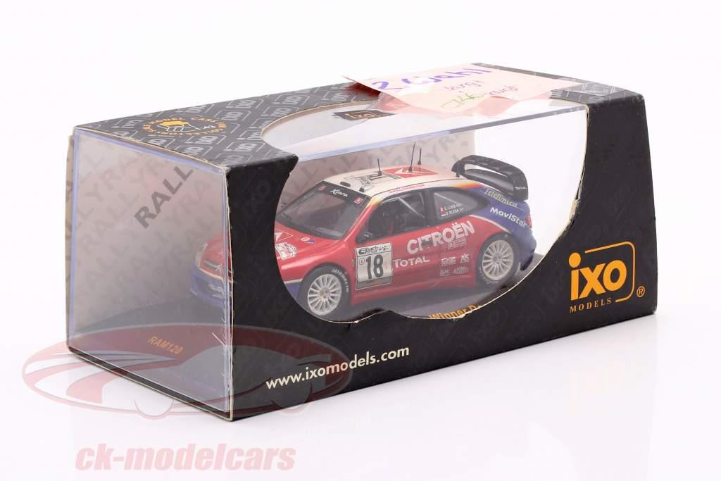 Citroen Xsara WRC #18 Vencedora Alemanha corrida 2003 Loeb, Elena 1:43 Ixo / 2 escolha
