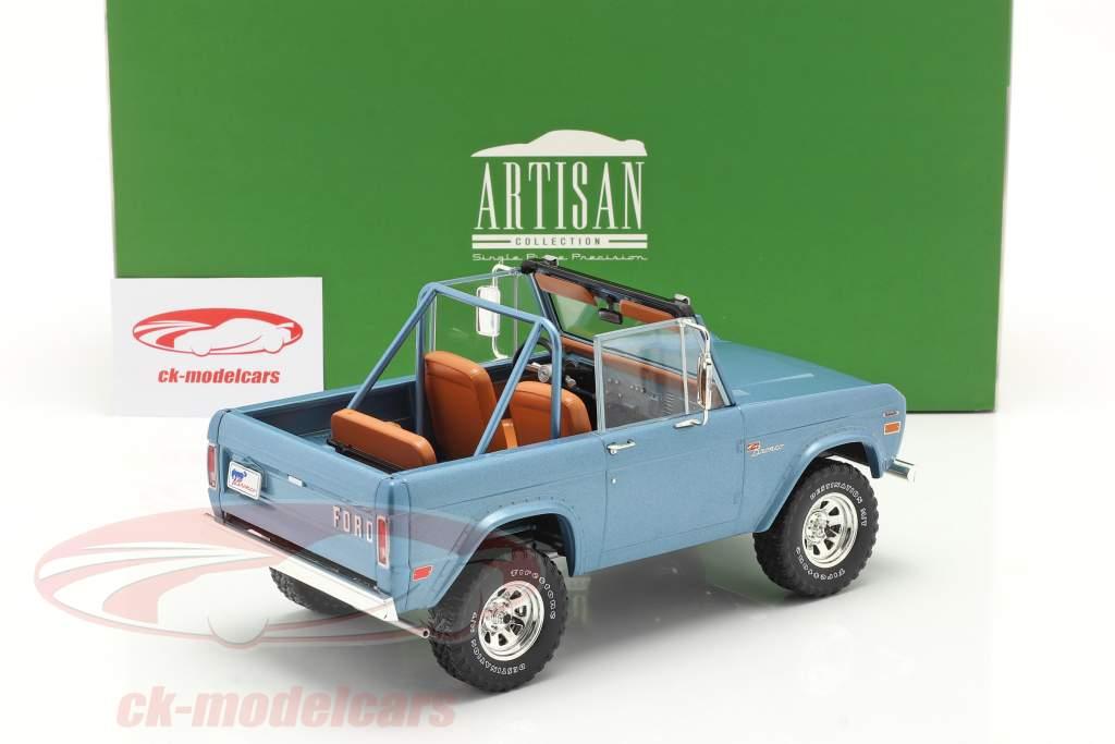 Ford Bronco Sport Anno di costruzione 1969 Azzurro 1:18 Greenlight