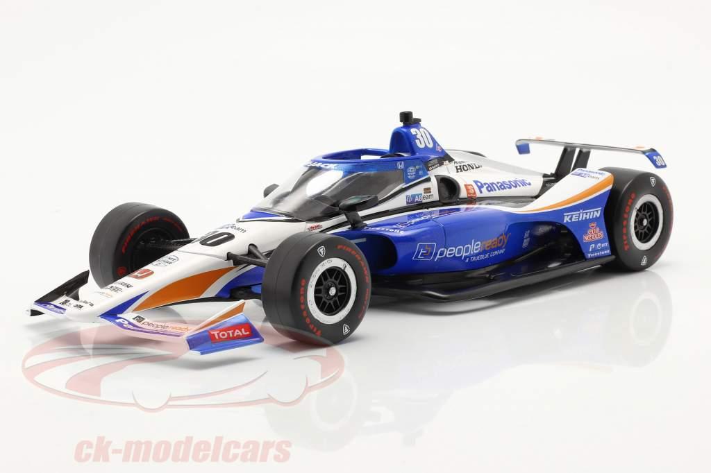 Takuma Sato Honda #30 Ganador Indy 500 IndyCar Series 2020 1:18 Greenlight