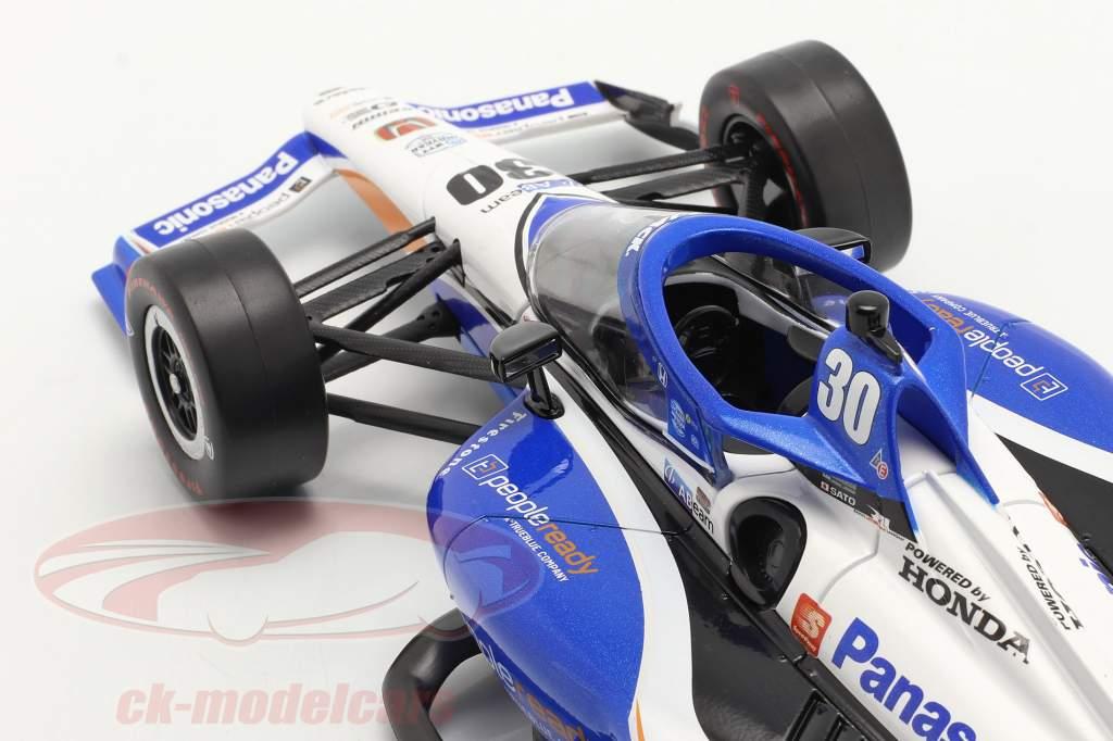 Takuma Sato Honda #30 Gagnant Indy 500 IndyCar Series 2020 1:18 Greenlight