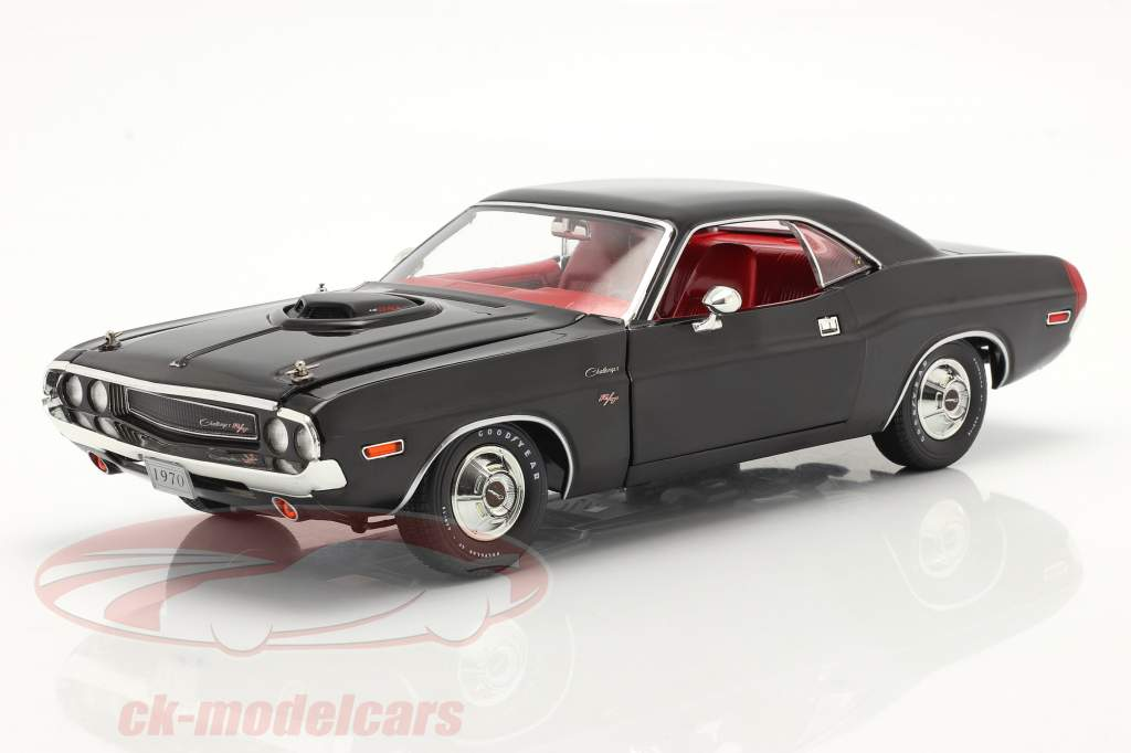 Dodge Challenger R/T 440 6-pack 1970 nero 1:18 Greenlight