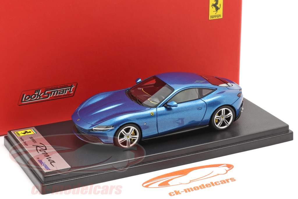 Ferrari Roma Ano de construção 2020 corsa azul 1:43 LookSmart