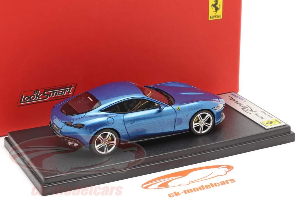 Ferrari Roma Baujahr 2020 corsa blau 1:43 LookSmart