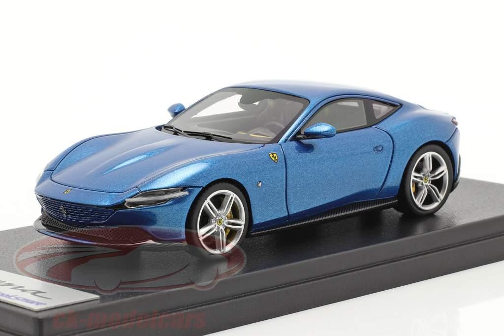 Ferrari Roma Année de construction 2020 corsa bleu 1:43 LookSmart