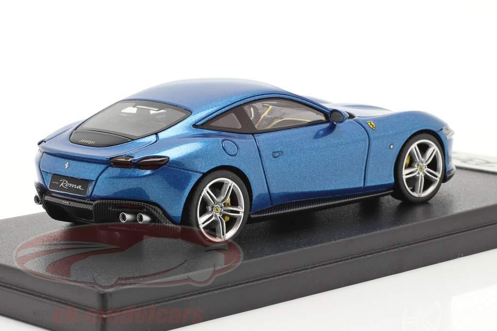 Ferrari Roma year 2020 corsa blue 1:43 LookSmart