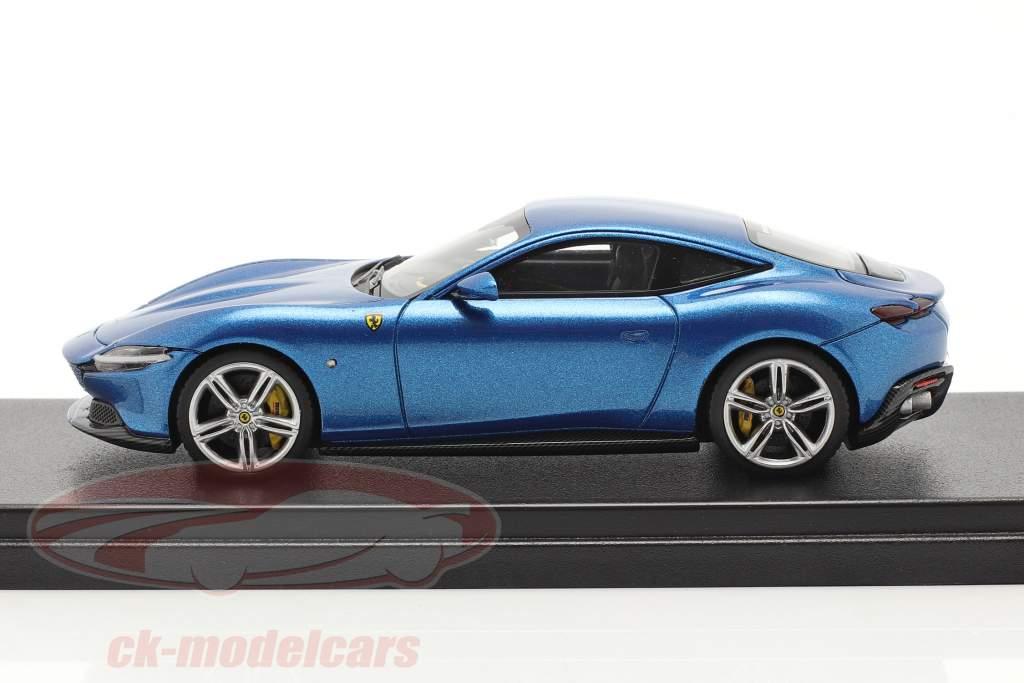 Ferrari Roma Bouwjaar 2020 corsa blauw 1:43 LookSmart