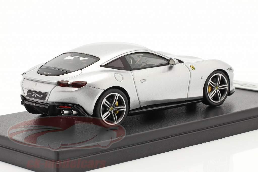 Ferrari Roma Baujahr 2020 Nürburgring silber 1:43 LookSmart