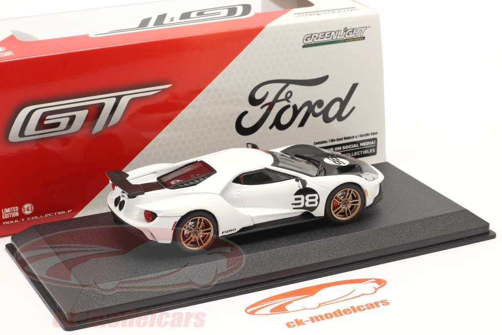 Ford GT #98 Anno di costruzione 2021 24h Daytona 1966 Tribute 1:43 Greenlight