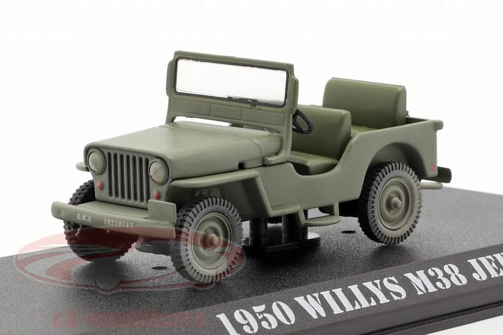Jeep Willys M38 1950 séries télévisées M*A*S*H (1972-83) olive 1:43 Greenlight