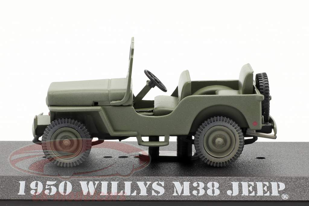 Jeep Willys M38 1950 TV series M*A*S*H (1972-83) olijf- 1:43 Greenlight