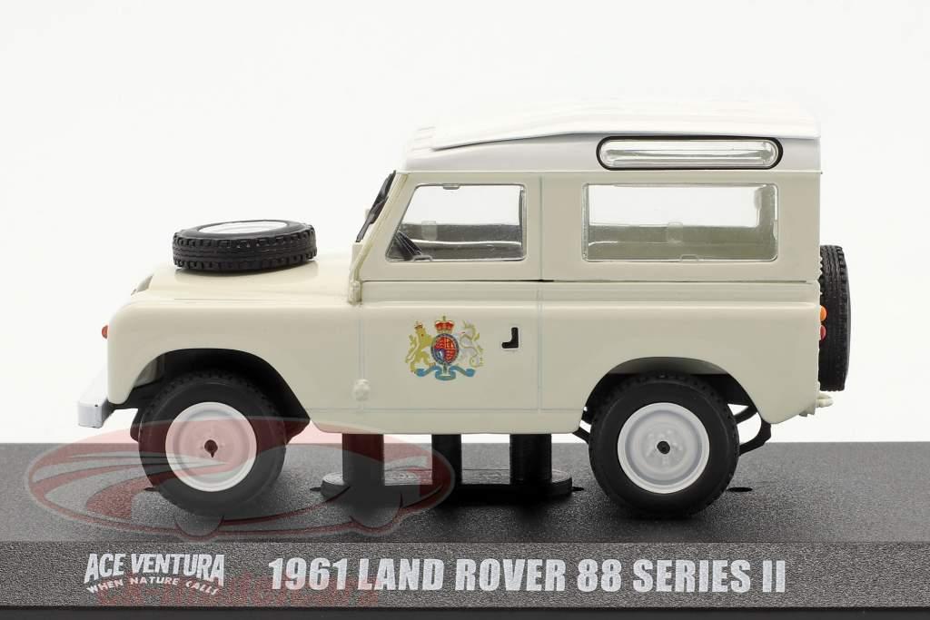 Land Rover 88 Series II 1961 Ace Ventura - When nature calls (1995) 1:43 Greenlight