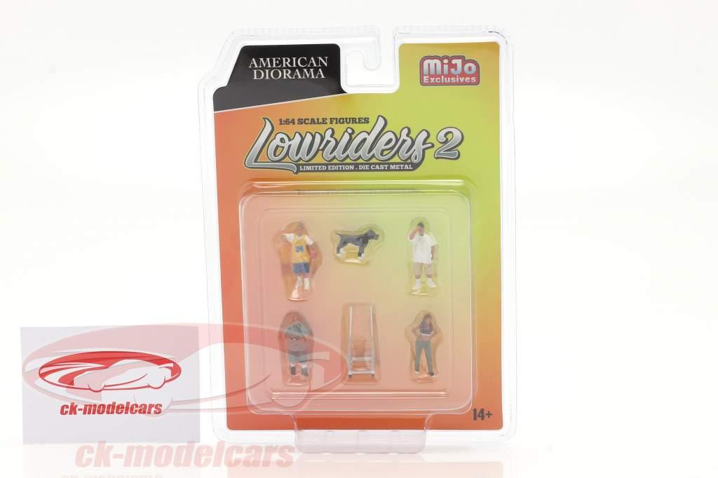 Lowriders Jeu de figurines #2 1:64 American Diorama
