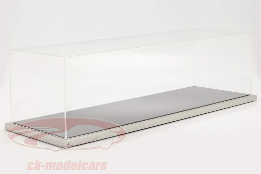 Alta qualità Atlantic acrilico vetrina 90 x 30 x 25 cm für Trasportatore da corsa 1:18