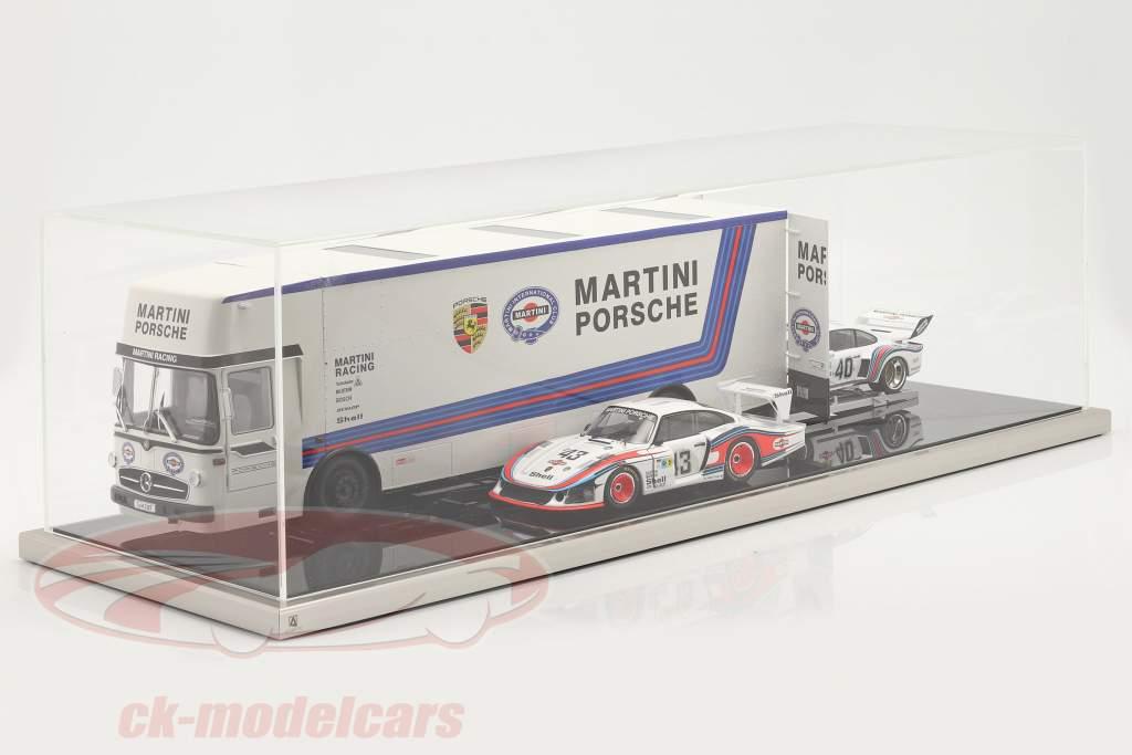 Alta qualidade Atlantic acrílico Mostruário 90 x 30 x 25 cm für Transportador de corrida 1:18