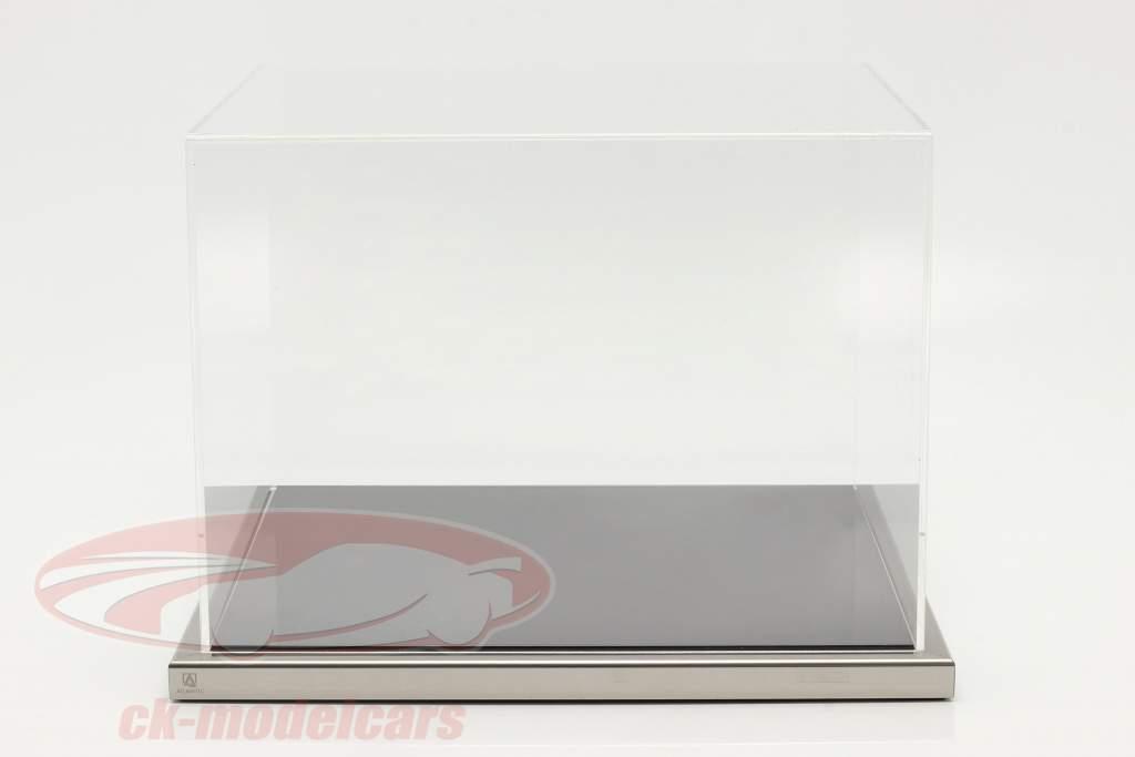 Hochwertige Atlantic Acryl Vitrine 38 x 36,5 x 27,5 cm für Originalhelme