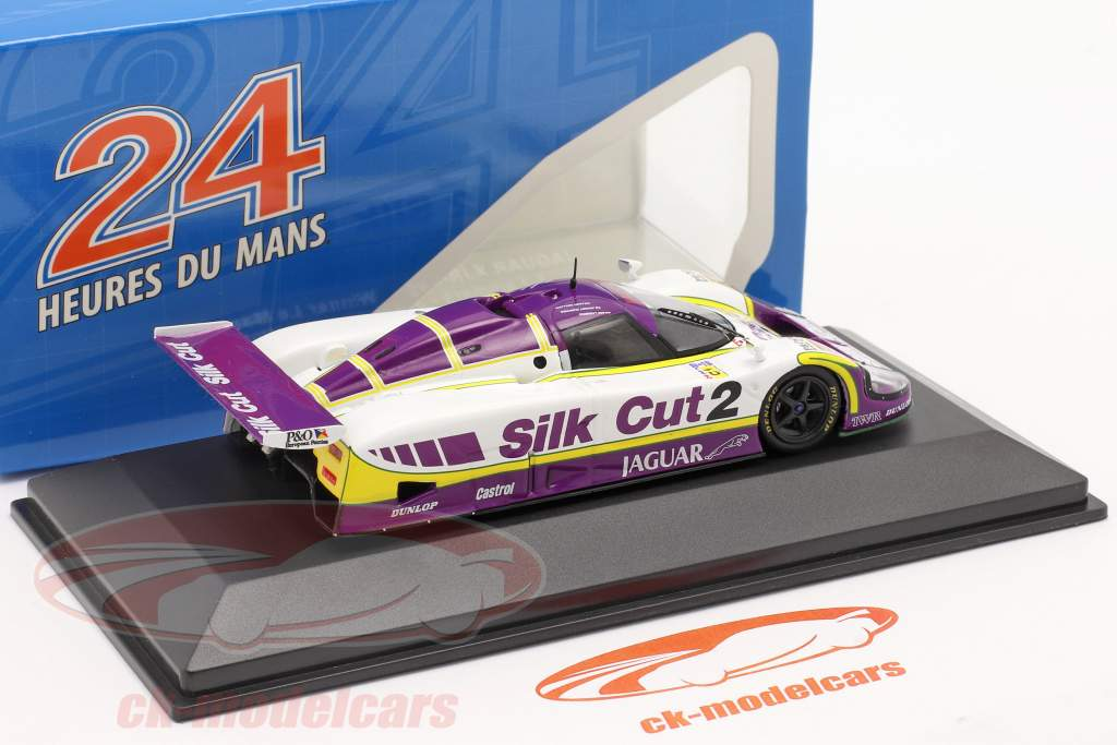 Jaguar XJR-9 #2 Sieger 24h LeMans 1988 Lammers, Dumfries, Wallace 1:43 Ixo