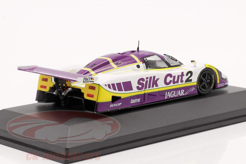Jaguar XJR-9 #2 vencedora 24h LeMans 1988 Lammers, Dumfries, Wallace 1:43 Ixo