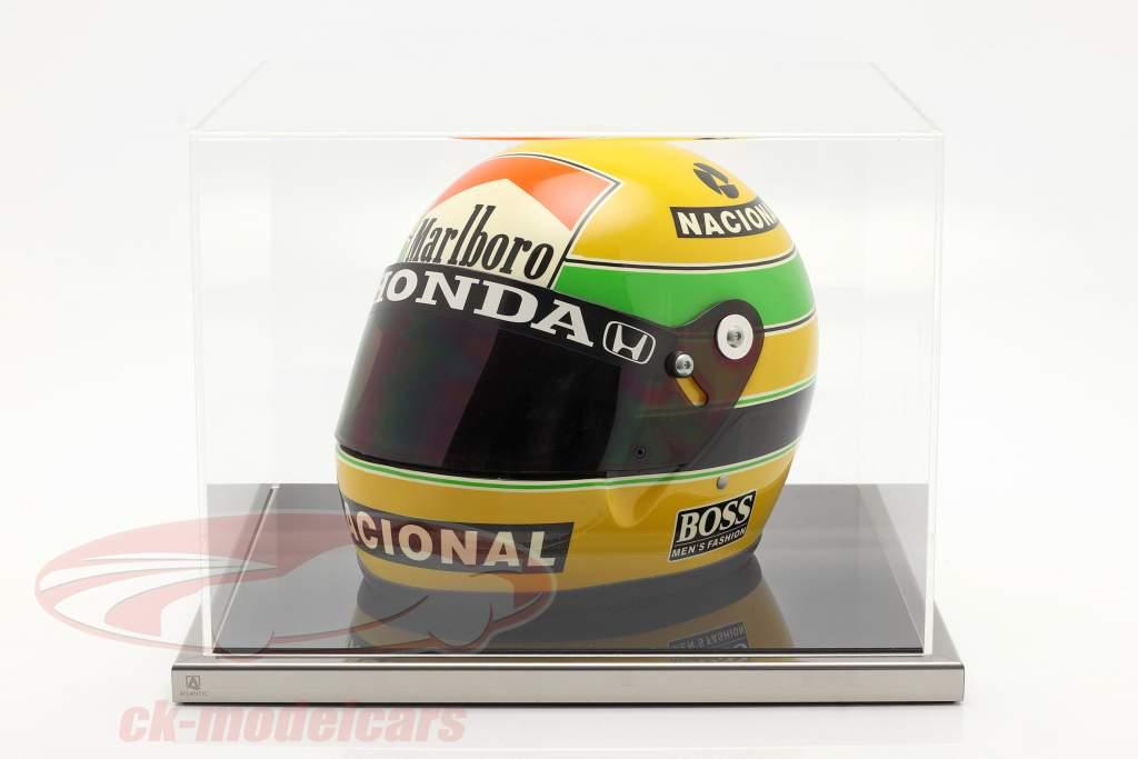 Van hoge kwaliteit Atlantic acryl Showcase 38 x 36,5 x 27,5 cm Voor Originele helmen