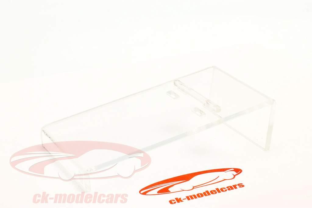 Acryl HillRamp Präsentations-Rampe für Modellautos im Maßstab 1:43 Atlantic