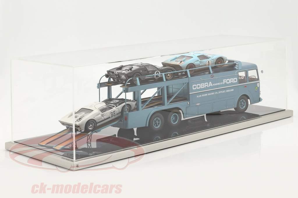 Høj kvalitet Atlantic akryl Udstillingsvindue 90 x 30 x 25 cm für Racertransportør 1:18
